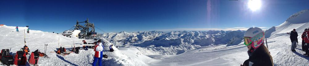 Laura - Glacier Tignes