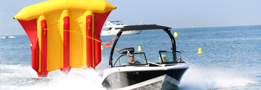 Sports nautiques tractés à Antibes - Juan Les Pins