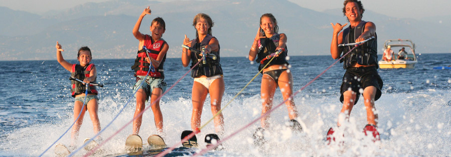 Ski nautique à Antibes - Juan Les Pins