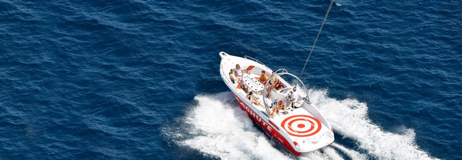 Parachute ascensionnel à Antibes - Juan Les Pins