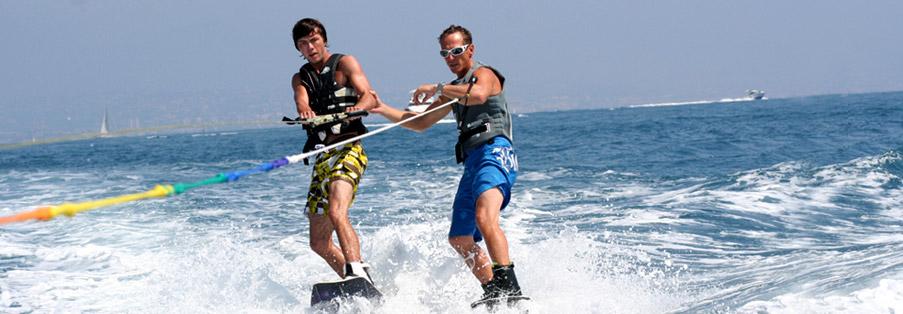 Ski Nautique et Wakeboard à Antibes