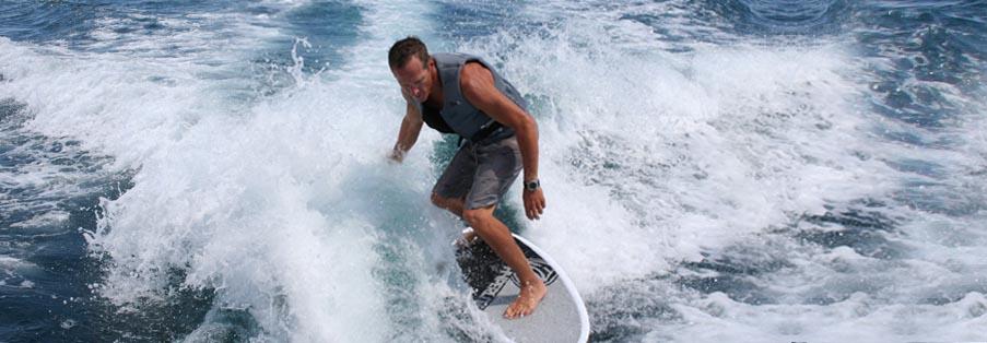 Wakesurf à Antibes - Juan Les Pins - Watersnow